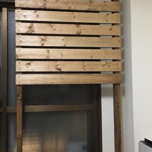 DIY 窓際でも壁掛けTV