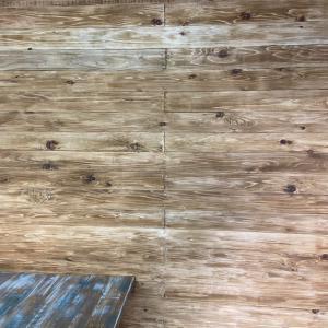 板壁にピラシェルで調整できる棚を作る