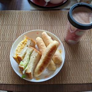残りもので朝ごはん&マグカップのお話