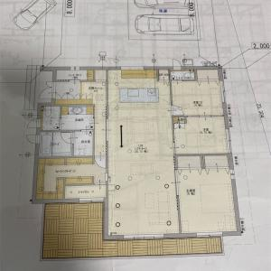 廊下も客間もない平屋のi-smart そして床はり方向はいつ変わった❓