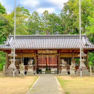 梅雨の時期は、紫陽花が咲き誇る新宮八幡神社⛩
