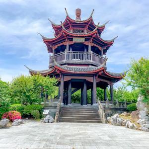 唐梅閣からの風景
