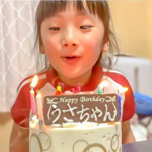 娘の6歳の誕生日でした(^^)