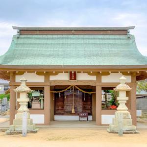 神吉城があったという神吉神社の瓦が⁉️⛩
