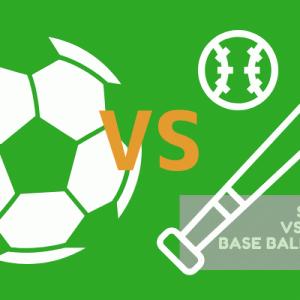 野球とサッカーを徹底比較 | 子どもにおすすめどっち?