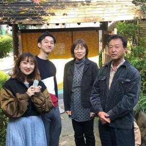 北沢八幡で安産祈願の後は、下北沢の大人気なお蕎麦やさん打心蕎庵(だしんそあん)へ!