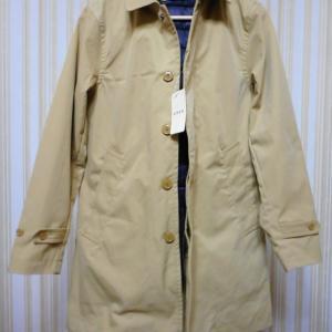 【購入品レビュー】春用にベージュのステンカラーコートを購入