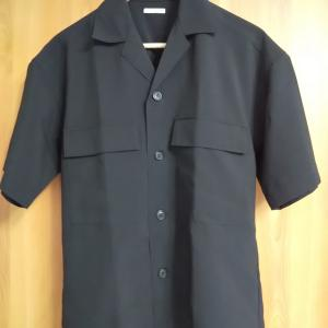 【購入品レビュー】GUドライダブルポケットオープンカラーシャツ(5分袖)