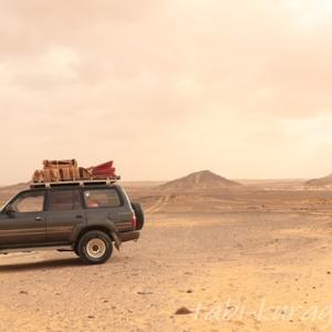 エジプトの西方砂漠でキャンプ|これ以上の絶景が、この大陸にあるのだろうか