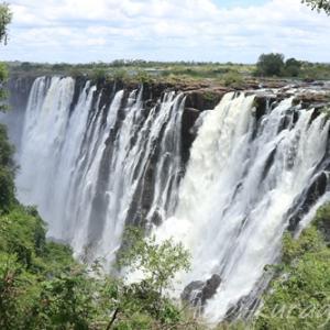 【世界遺産】世界三大瀑布!ザンビア側から、ビクトリアの滝を見に行こう