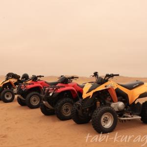 ナミビアでレンタカー仲間がいなくても、ナミブ砂漠を楽しむ方法