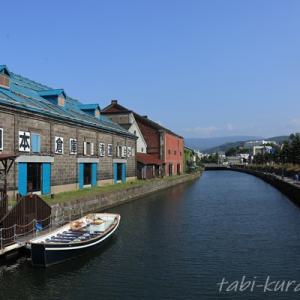 【小樽観光】小樽駅前~小樽運河|海鮮丼とお散歩と小樽運河クルーズと