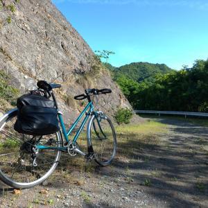 2980円ママチャリで未舗装の林道を3本走ってきました、 最高に楽しい(;´∀`)