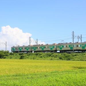 豊橋鉄道 1800形 緑色編成