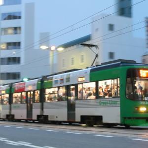広島電鉄 3950形 Green Liner