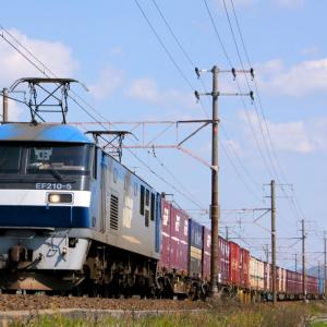 JR貨物 EF210 5 東海道本線