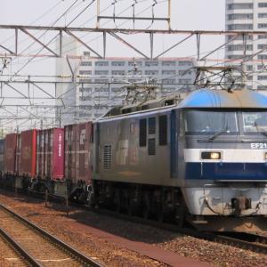 JR貨物 EF210 105 東海道本線