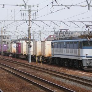 JR貨物 EF64 70 東海道本線