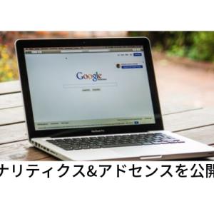 2019/11月分【Googleアナリティクス&アドセンス】公開します!