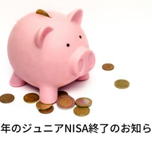 今年のジュニアNISAの買付終了!-投資への考察-