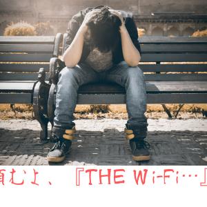【繋がらない・・・!?】THE Wi-Fiに問合せしてみた。
