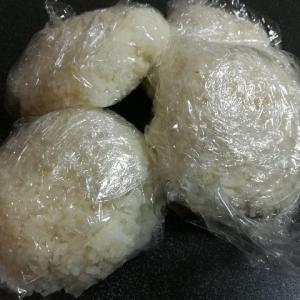 五等分の冷凍ご飯と干し芋