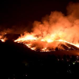 予告 奈良県の風物詩 若草山の山焼き