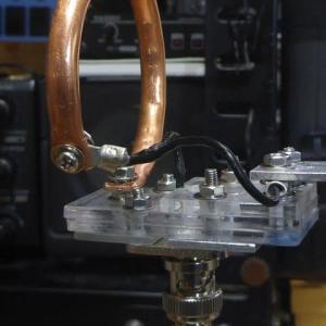 430MHzバンド用小型ループアンテナ製作 Ver.3への改良