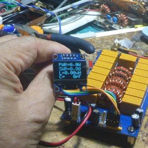 "ATU-100 7x7,0.91"" OLED display付きキットの作成"