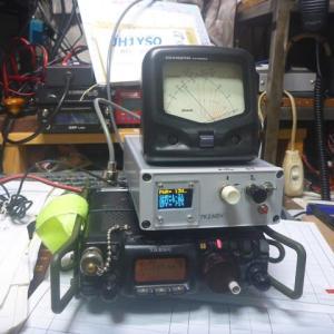 "ATU-100 7x7,0.91"" OLED display付きキットの作成(第2報)"