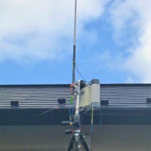 5.6m 14段ロッドアンテナをHFアンテナとして使う