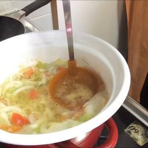 簡単 脂肪燃焼スープ Fat combustion  Cabbage  soup Recipe