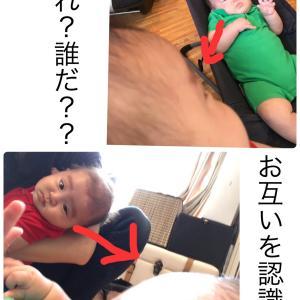 息子だけ仲間はずれ事変(双子3ヶ月)