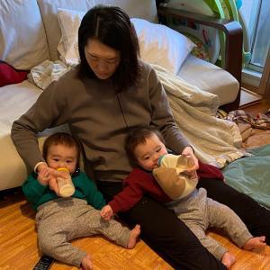 【疲労臭】漂う双子ママ 複雑な夫の対応