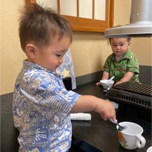 1歳双子連れで焼肉に行った結果
