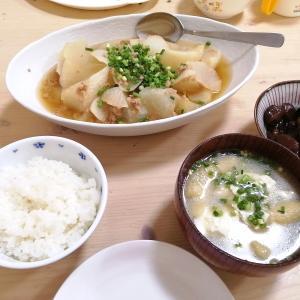 今日の晩ごはん**郷土料理しょうゆ豆(醤油豆)