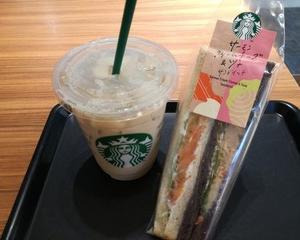 スタバージン~初めてのスタバサンドイッチ~