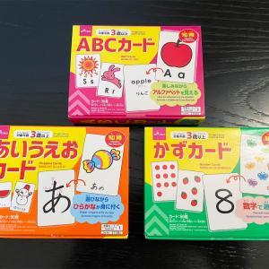【100均知育】フラッシュカードとドッツカードにも使える!ダイソーの知育カード
