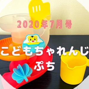 【幼児向け通信教育】こどもちゃれんじぷち7月号 お風呂でも知育!