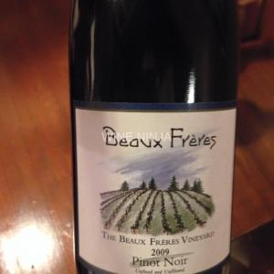 飲んだワイン ボー・フレール/ザ・ボー・フレール・ヴィンヤーズ ピノ・ノワール2009 8点