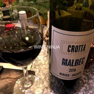 飲んだワイン ボデガス・イ・ビニェドス・クロッタ/マルベック2016 6点