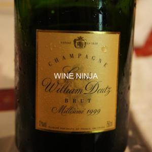 飲んだワイン ドゥーツ/シャンパーニュ キュヴェ・ウィリアム・ドゥーツ ブリュット ミレジム1999 8点