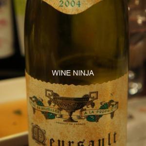 飲んだワイン ドメーヌ・コシュ・デュリ/ムルソー ブラン2004 9点
