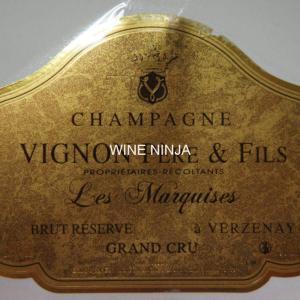飲んだワイン ヴィニョン・ペール・エ・フィス/レ・マルキーズ ブリュット・リザーブN.V. 8点