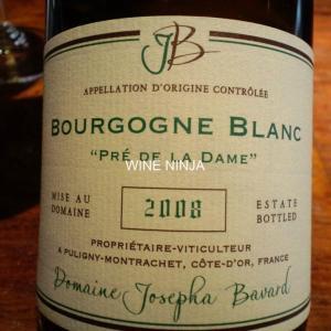 飲んだワイン ドメーヌ・ジョセフ・ババール/ブルゴーニュ・ブラン プル・ドゥ・ラ・ダーメ2008 7点