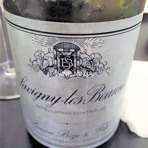 飲んだワイン シモン・ビーズ・エ・フィス/サヴィニー・レ・ボーヌ ブラン2004 7点