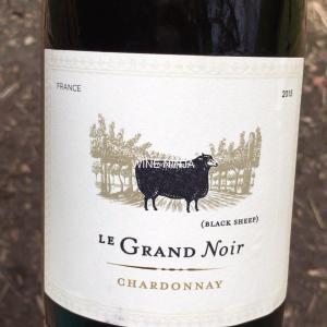 飲んだワイン ル・グラン・ノワール/シャルドネ2015 8点