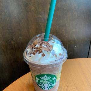 Starbucks チョコレート with パッション フルーツ フラペチーノ