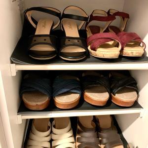 靴入れ替え サンダル👡 出しました🤗