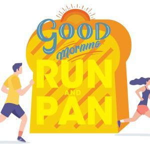 朝のパン屋へのランニングでストレス解消、運動不足解消、家族サービスができる